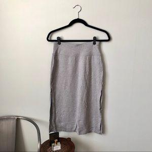 ATHLETA 🎀 Side Slit Midi Skirt